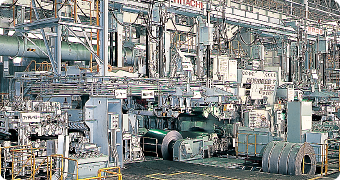 Cold rolling mill: No.3 cold-rolling mill