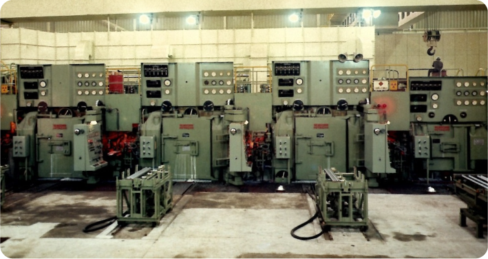 Cold rolling mill:No.3 tandem cold rolling mill