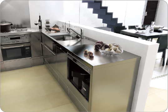 Integrated kitchen system